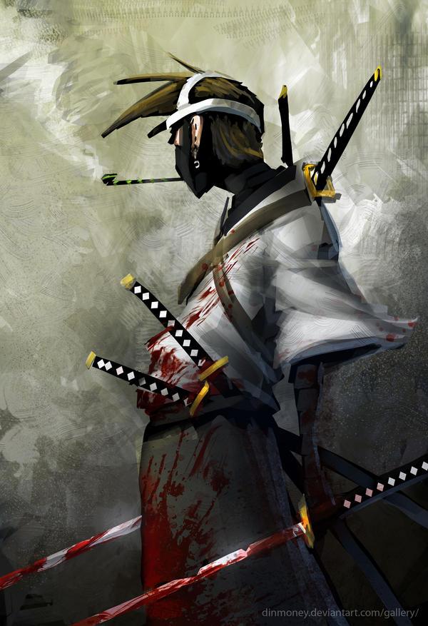 Genji - sketch by SAMURAI-GENJI