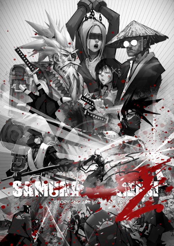 Samurai Genji Ch2 cover by SAMURAI-GENJI