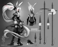 Momoko character sheet by SAMURAI-GENJI