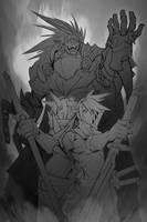 Will you Fight? - sketch by SAMURAI-GENJI