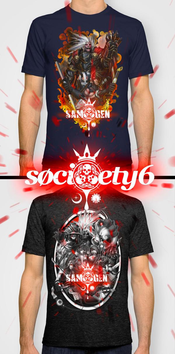 Society6 Promo Aug 5-10th by SAMURAI-GENJI