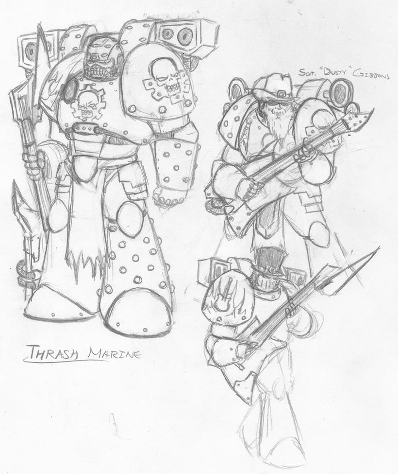 SC Thrash Marine by eightball6219