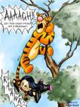 Roushin NO LIKE Tigger