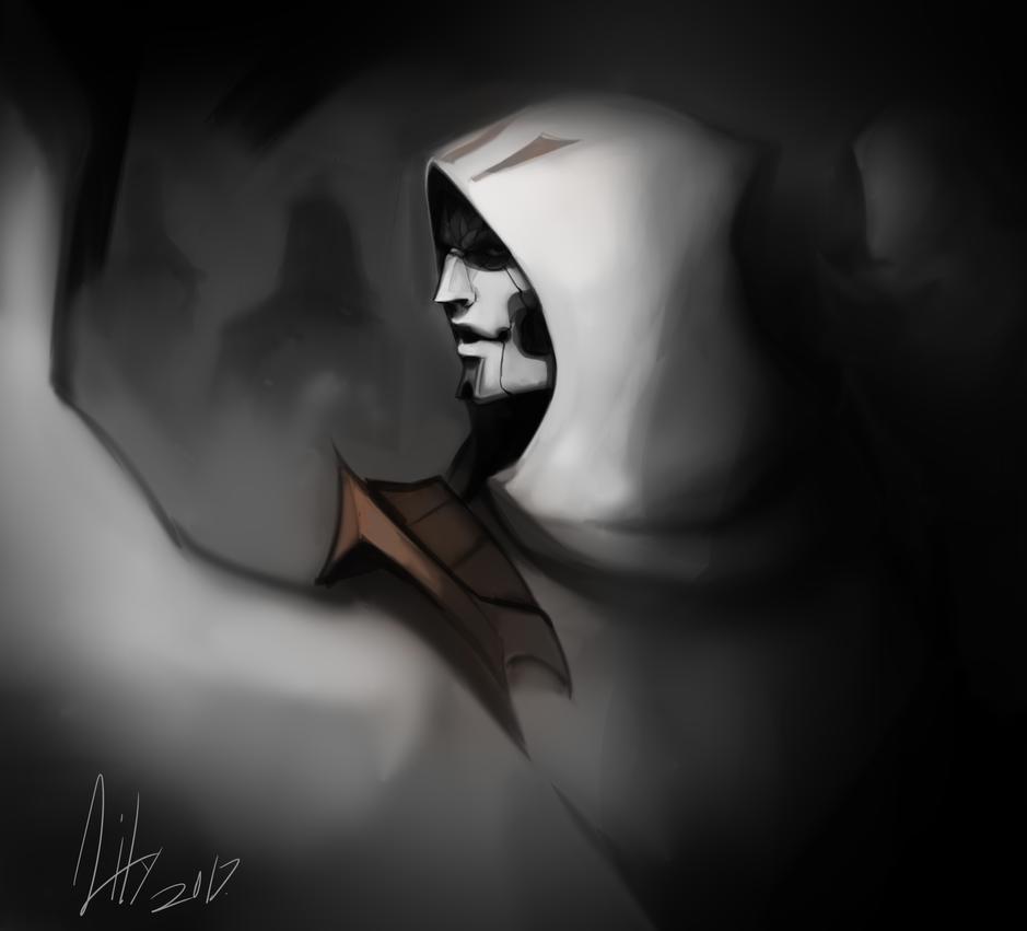 jhin by SilentAndSullen
