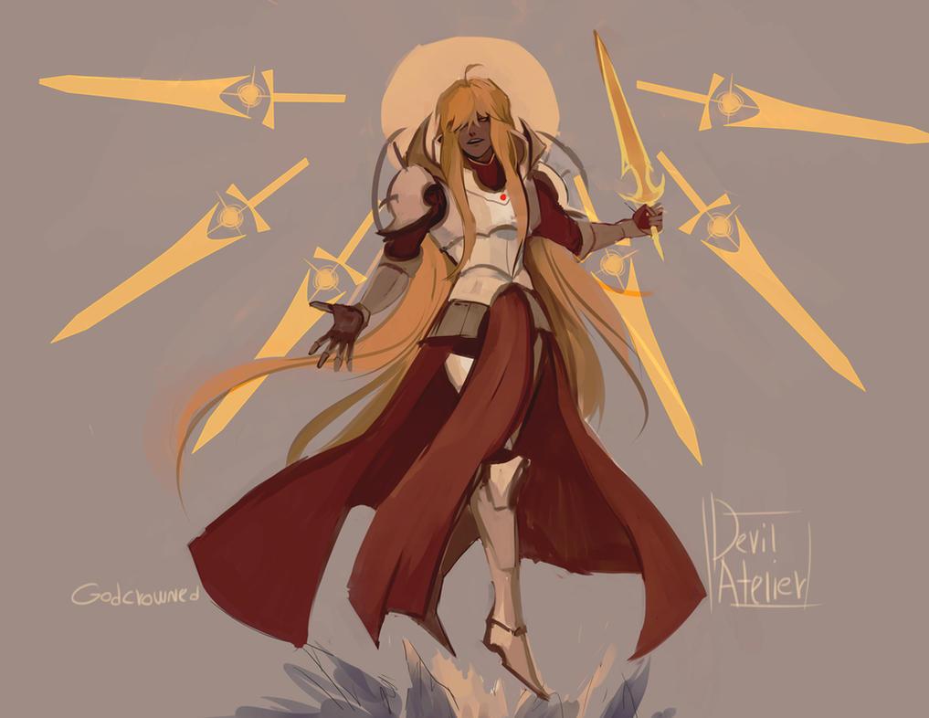 archangel michael by SilentAndSullen