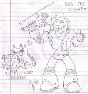 Robots like chicken?