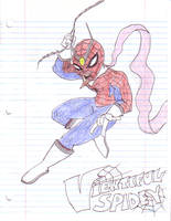 Viewtiful Spidey by Torrential-E