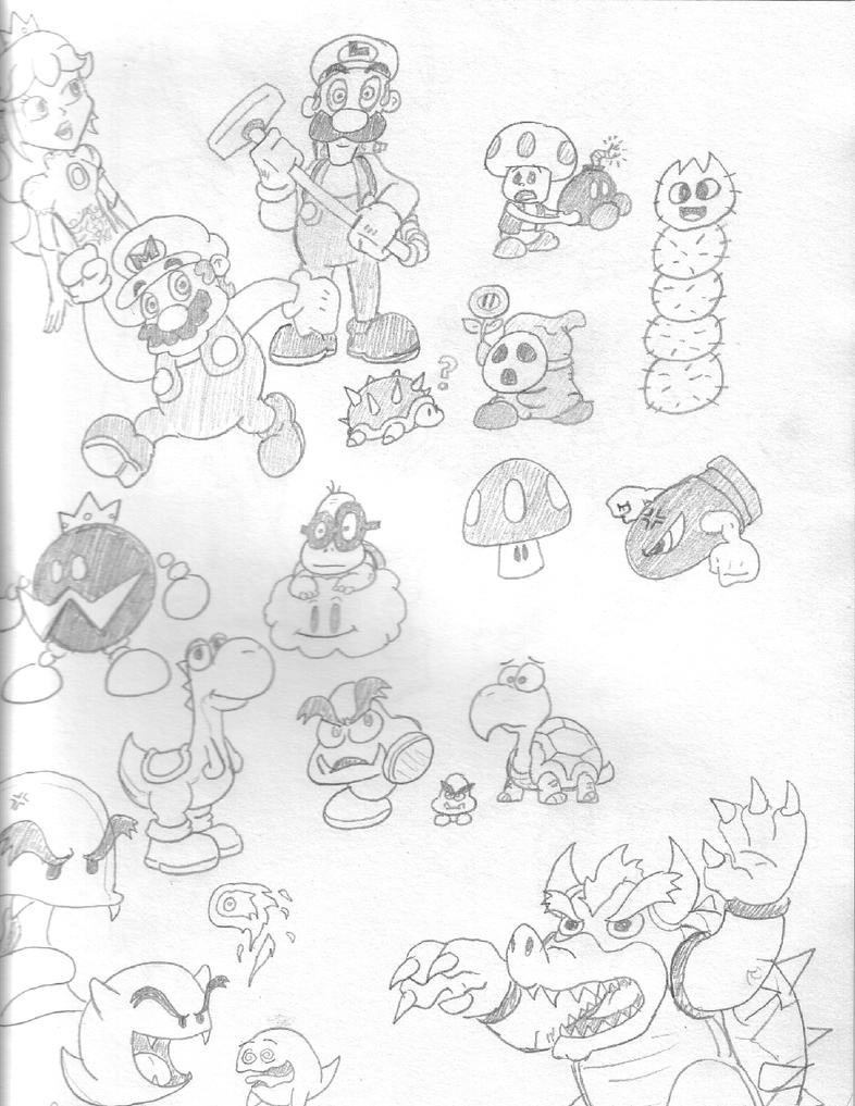 Sketchbook Mondays 010807 by Torrential-E