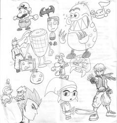 Sketchbook Mondays 011607