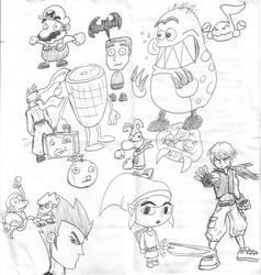Sketchbook Mondays 011607 by Torrential-E