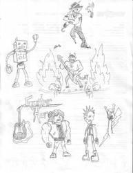 Sketchbook Mondays 012207