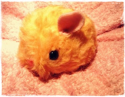 Chibi Hamster Plushie by LittlePlush