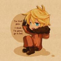 SP_Kenny:'i'm tired' by bji4z06kimocom