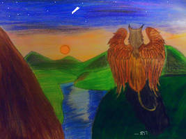 The Endless River - The Gryphon Chronicles by FireRebelHeart