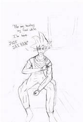 Just SAIYAN- Goku (Request#3)