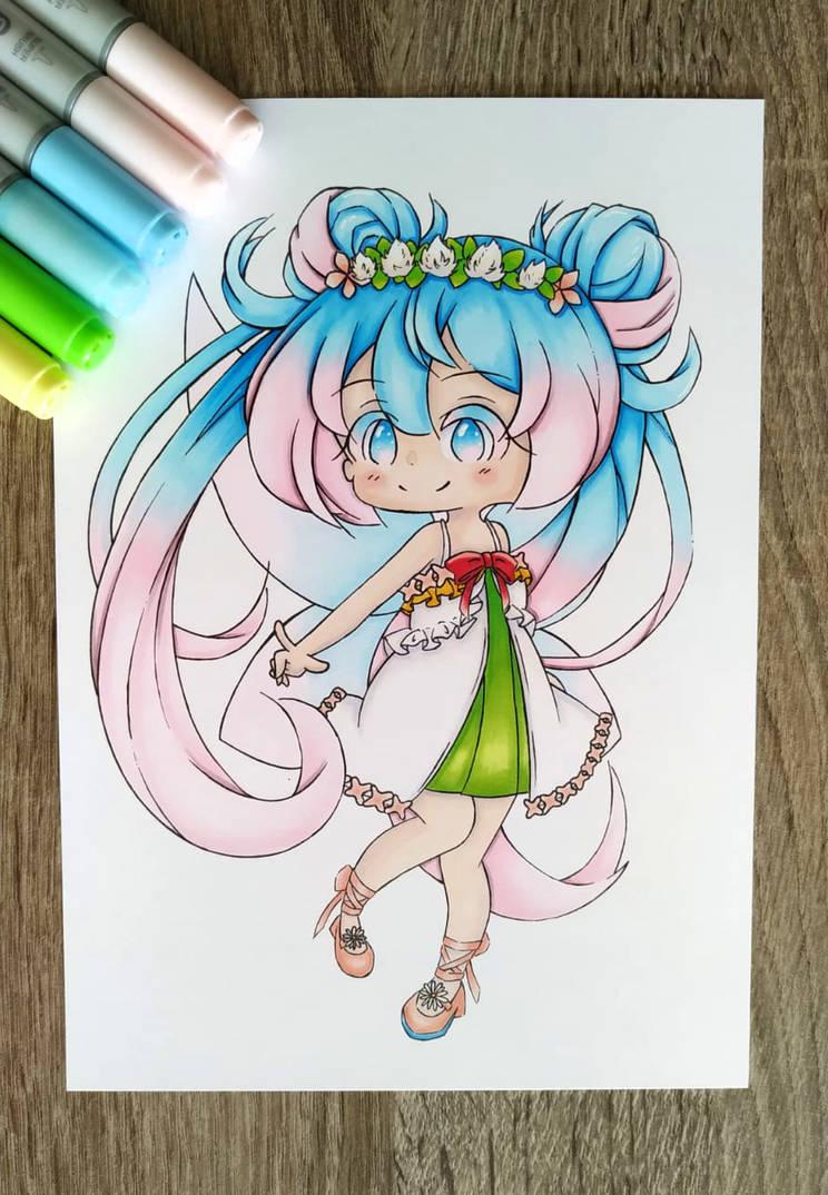 Spring fairy Miku