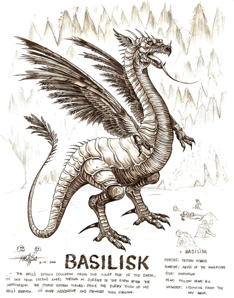 basilisk by artstain on DeviantArt