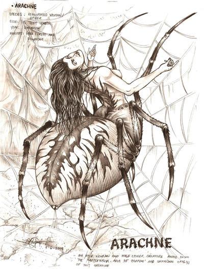 Arachne by artstain
