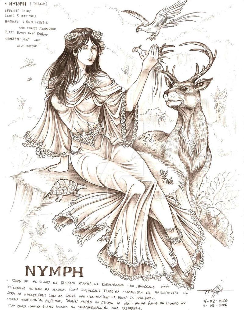 Nymph -Maria Makiling