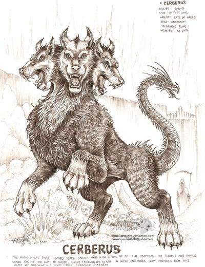 Cerberus by artstain on DeviantArt