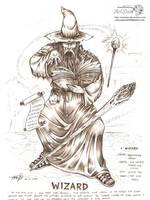 Wizard by artstain