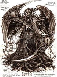 Death by artstain
