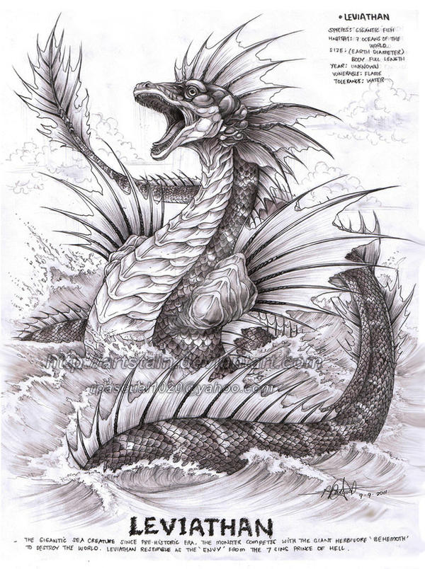 Leviathan by artstain on DeviantArt