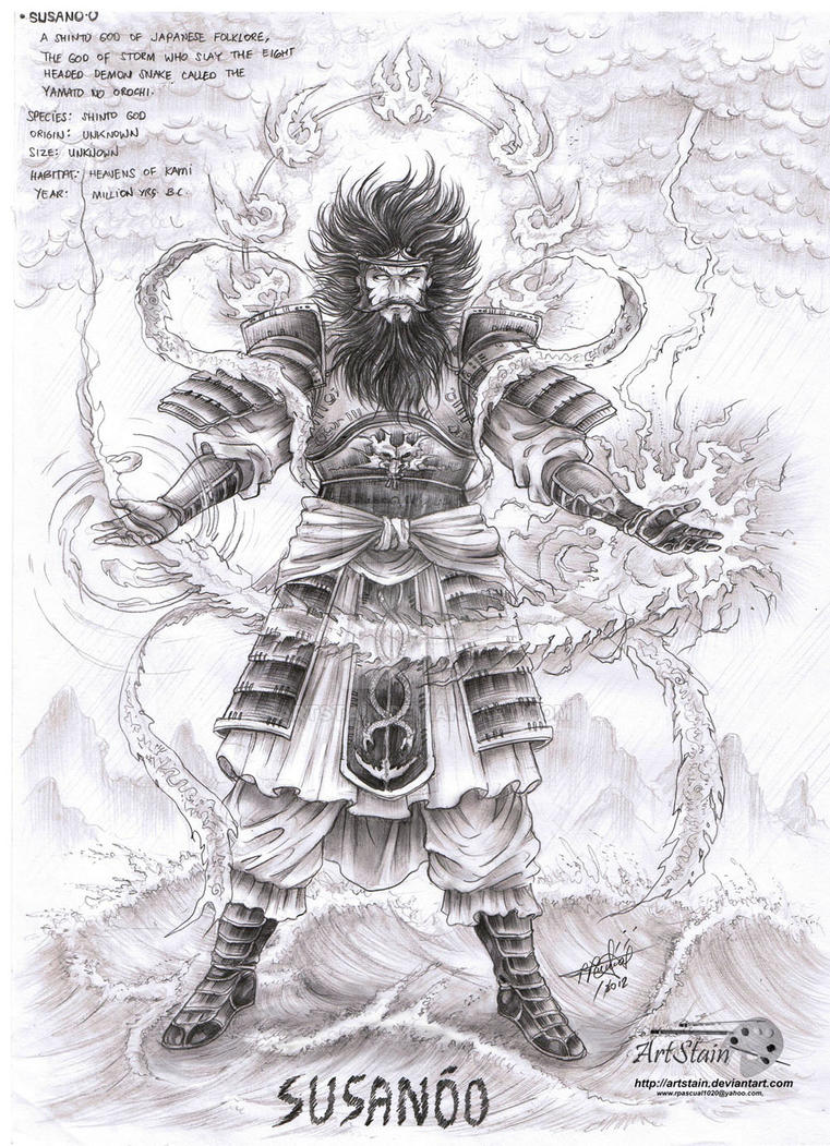 Susanoo by artstain