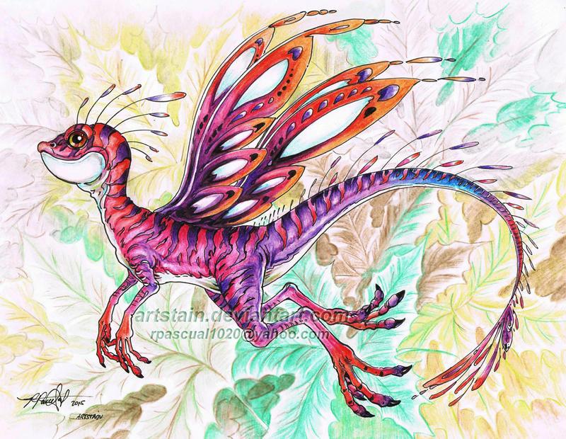 Pixy Mini-Dragon by artstain