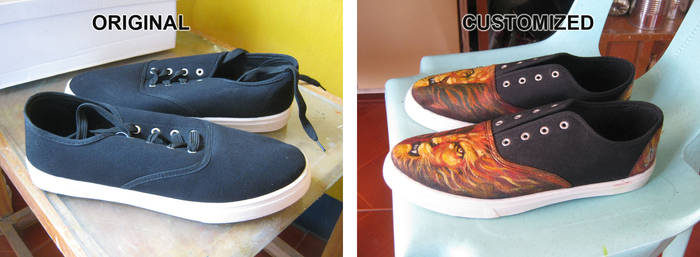 Stain on Shoes - 2