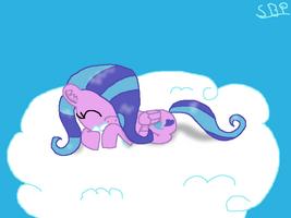 Cloud, You So Fluffy by Shiningbrightpony