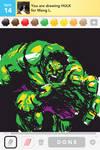 Drawsomething_Hulk by zzyzzyy