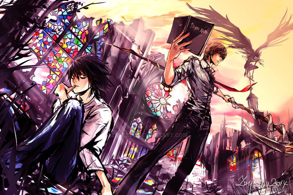 Death Note by zzyzzyy on DeviantArt – Death Note