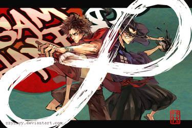 Samurai Champloo by zzyzzyy