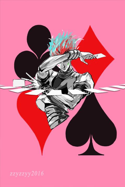 Download Hunter X Hunter Hisoka Art Wallpapers