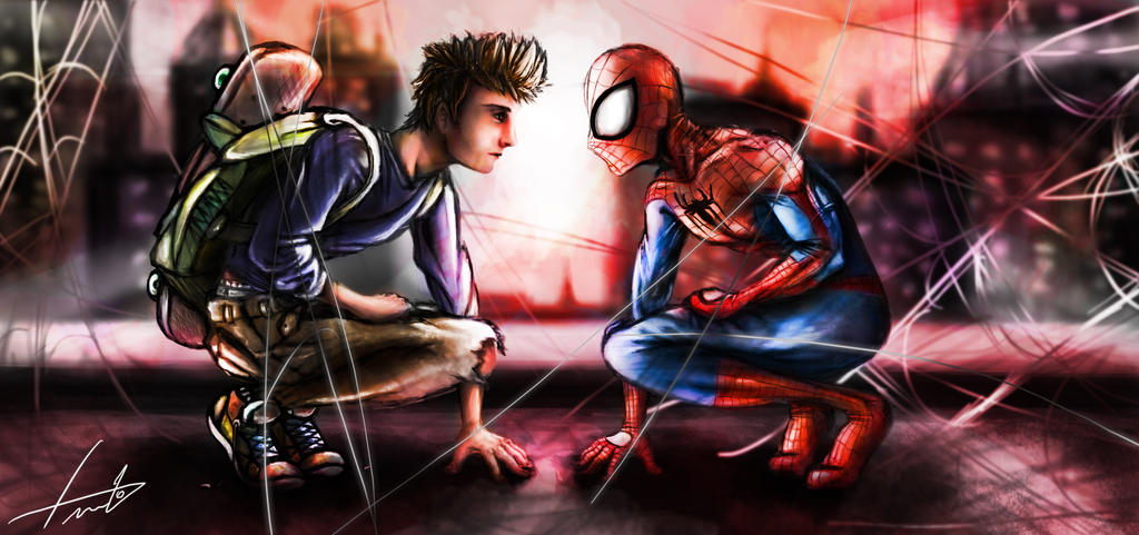 Peter Man - Spider Parker by LouizBrito