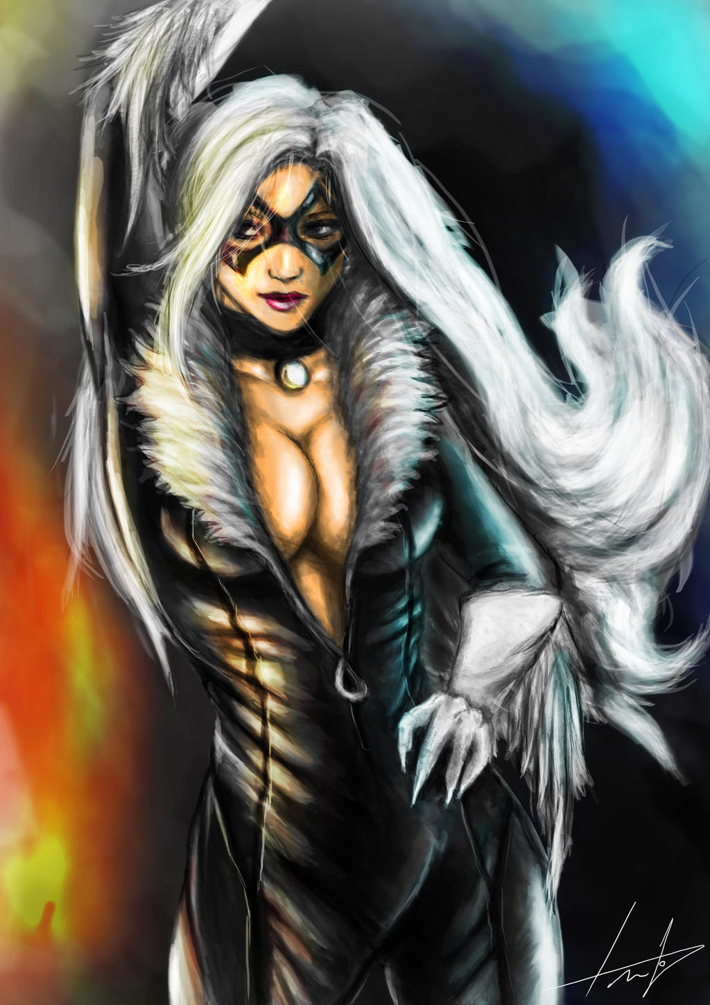 Blackcat by LouizBrito