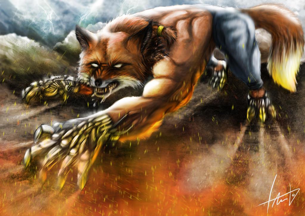 Hybrid Fox by LouizBrito