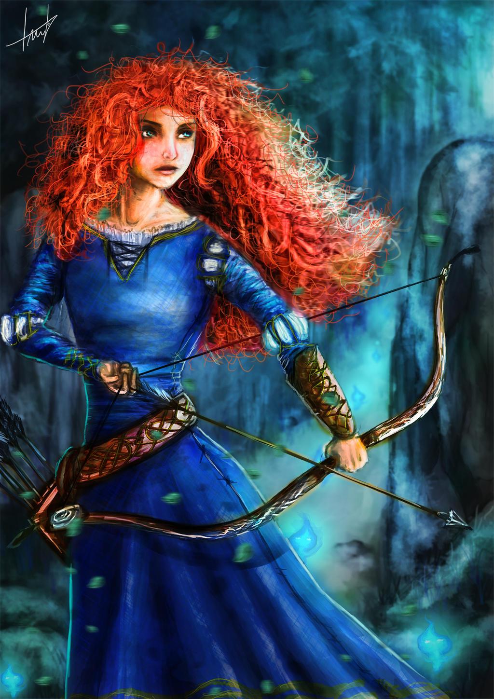 Merida (my version) by LouizBrito
