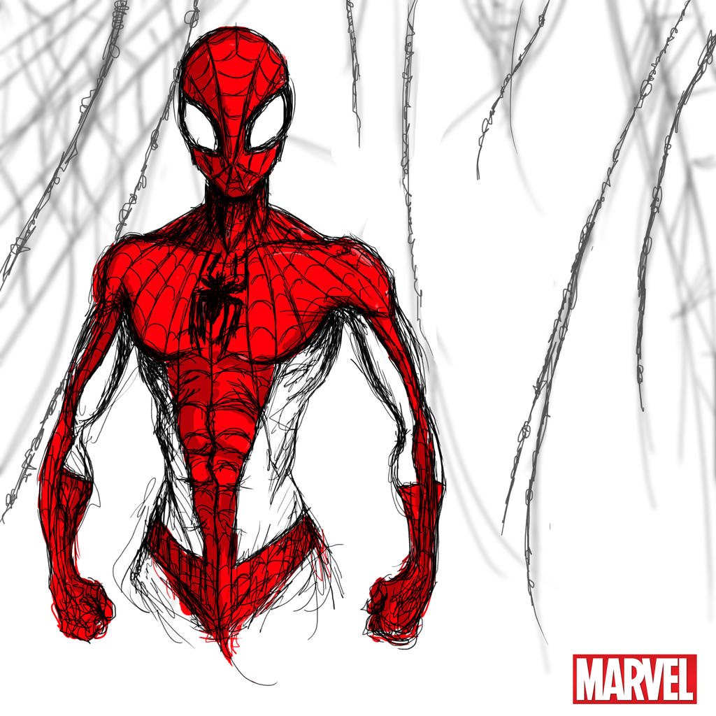 Heroes Series: SPIDER-MAN by LouizBrito