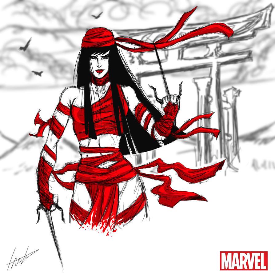 Heroes Series: ELEKTRA by LouizBrito