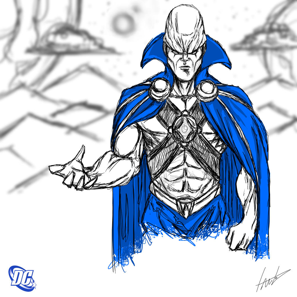 Heroes Series: MARTIAN MANHUNTER by LouizBrito