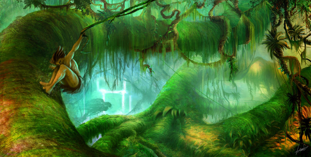 Tarzan... my version by LouizBrito