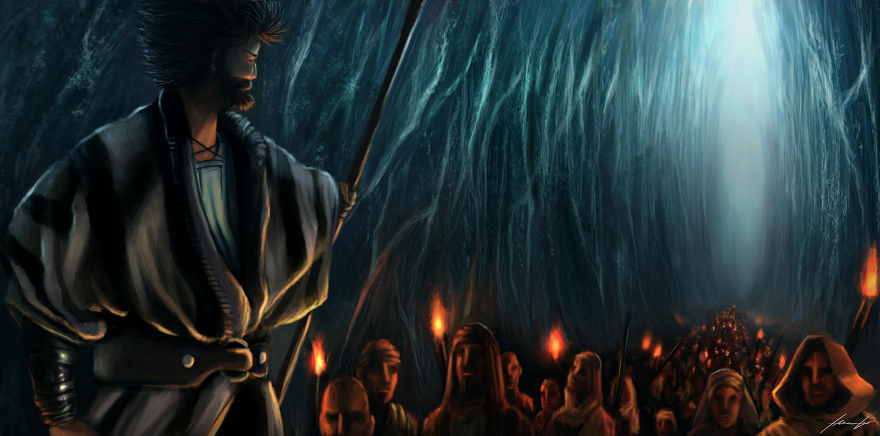 Moses and the Former Slaves by LouizBrito