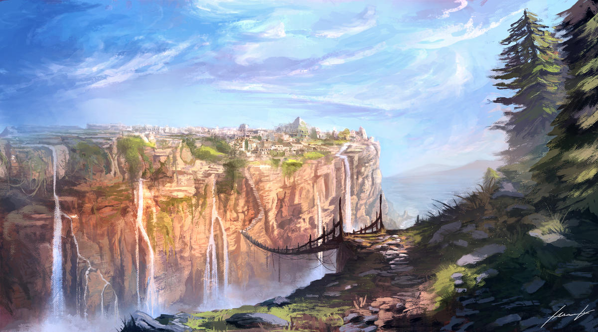 The Brigde by LouizBrito