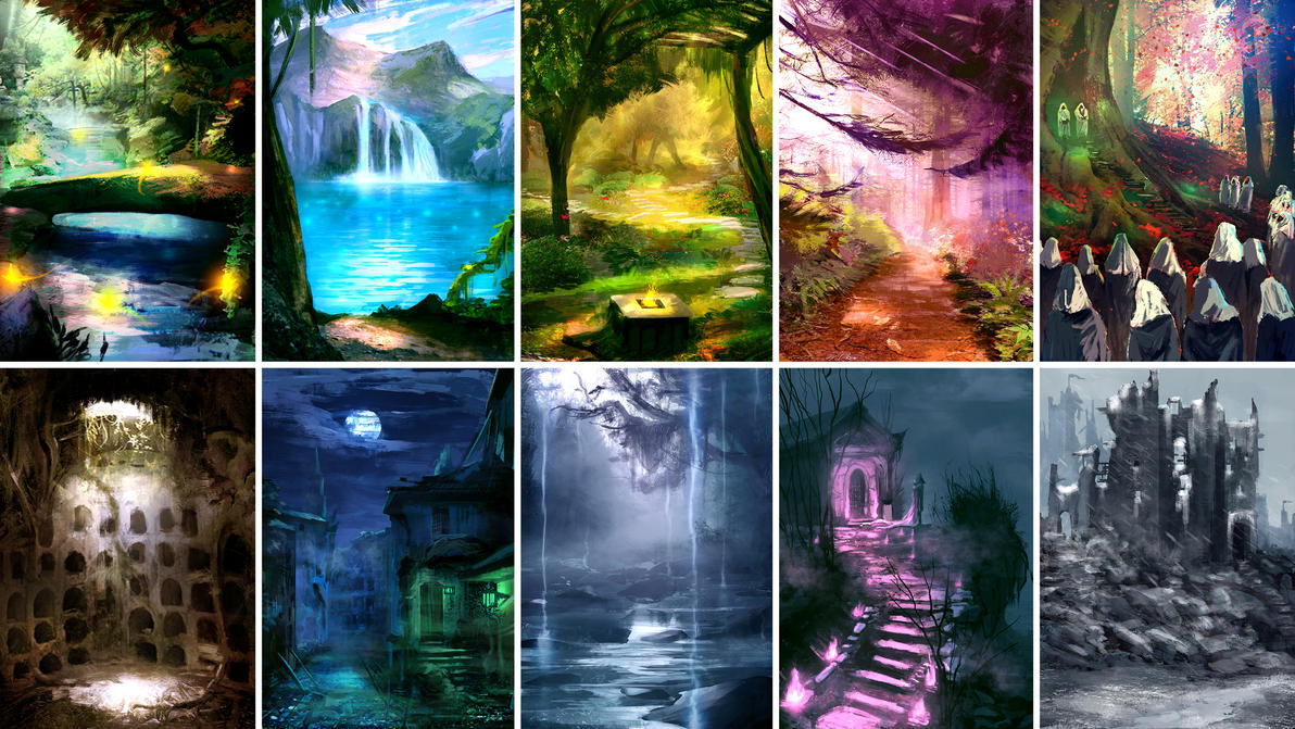 Environment for RPG Game - Pack 1 by LouizBrito