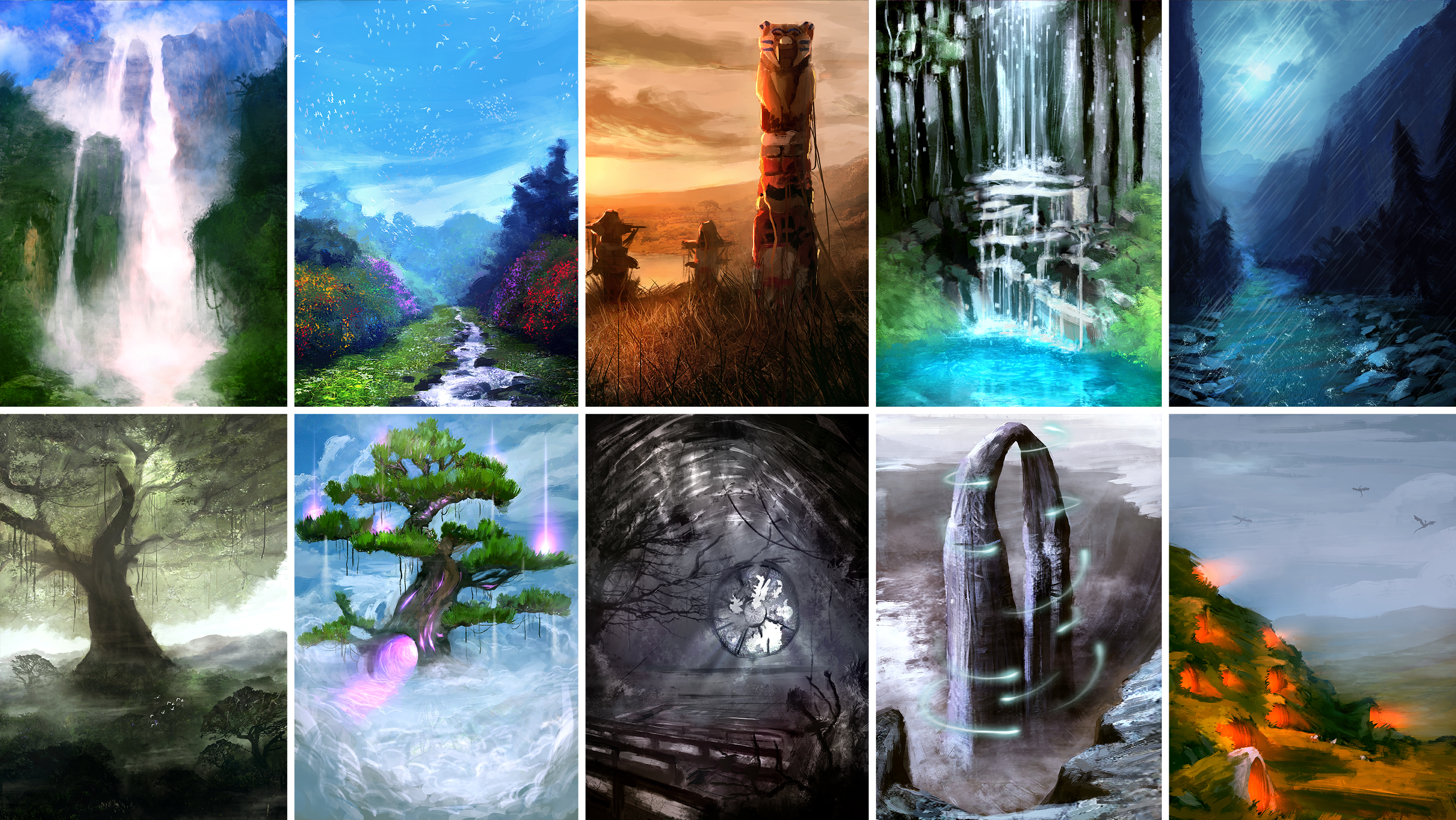 Environment for RPG Game - Pack 2 by LouizBrito