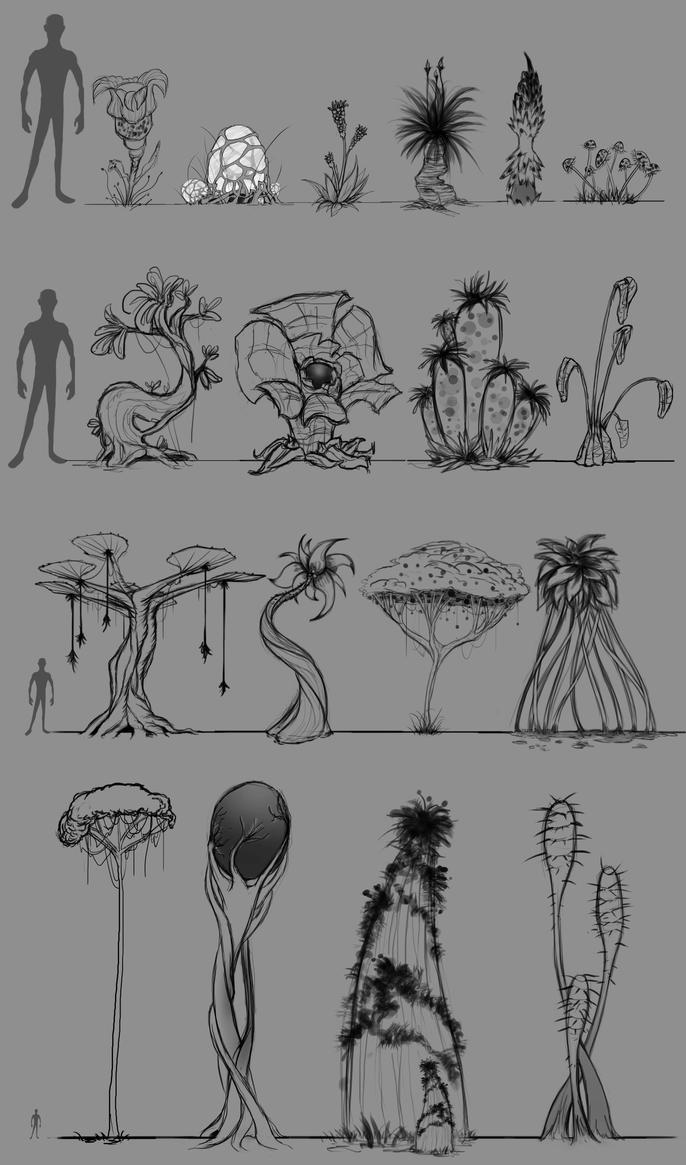 Plants Design by LouizBrito