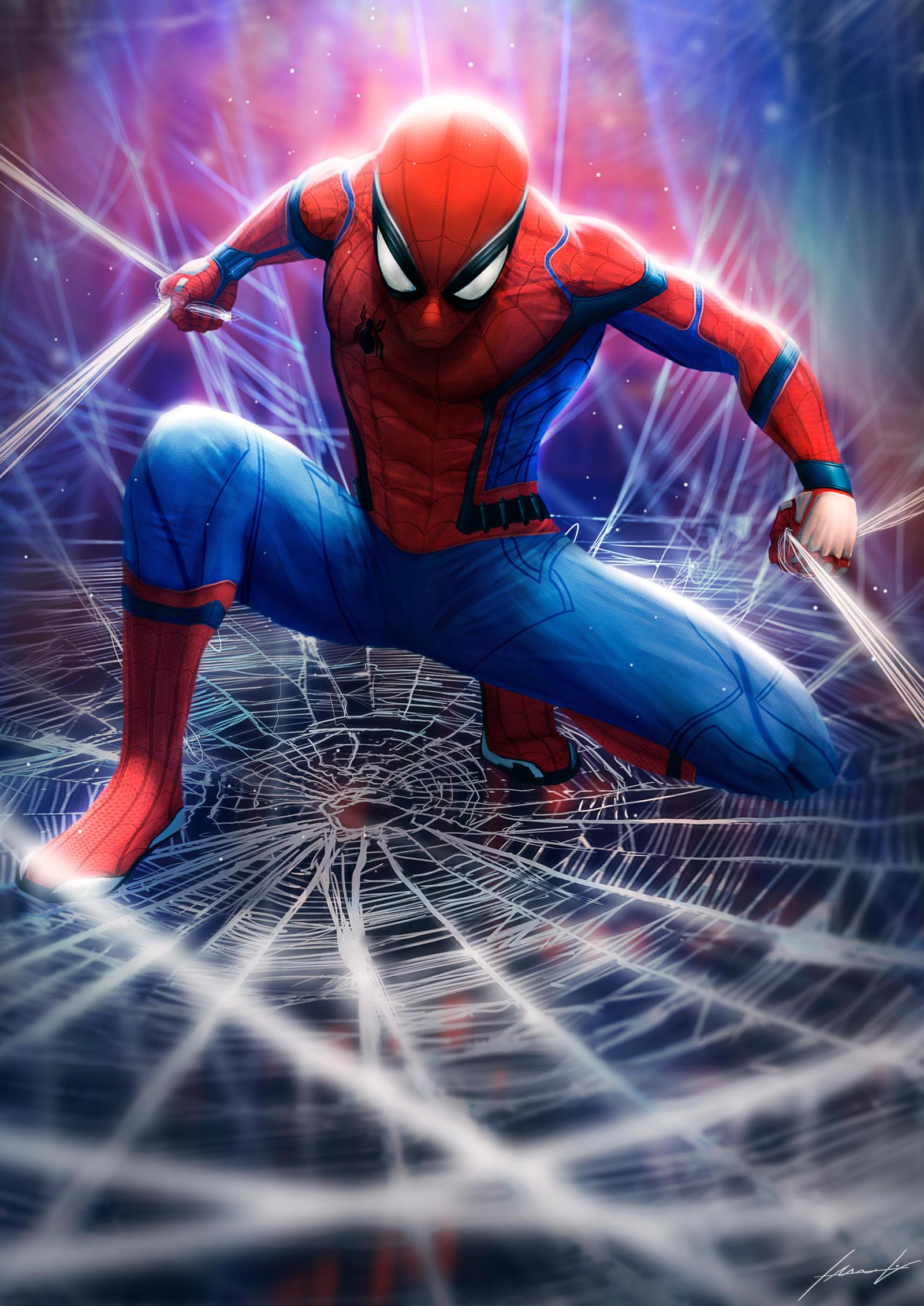 Badass Spider Man by LouizBrito