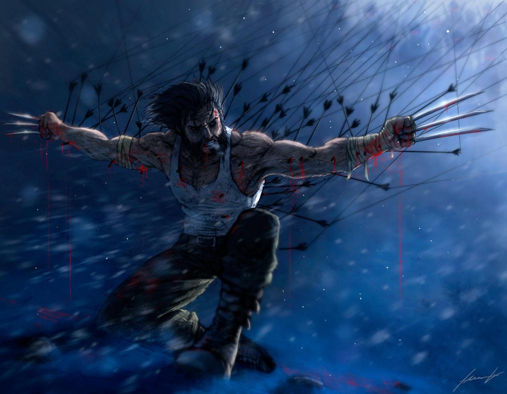 Wolverine by LouizBrito
